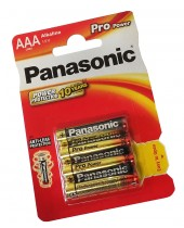 Baterie Panasonic Pro power AAA 4 ks